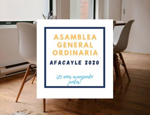 Nota de Prensa: ALZHEIMER CyL celebró su Asamblea General Anual 2020 y renovó cargos