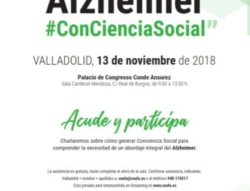 """Jornada """"Alzheimer #ConCienciaSocial"""""""