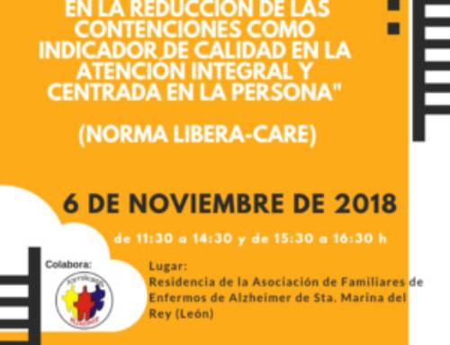Formación Práctica en la reducción de las contenciones – Norma Libera-Care