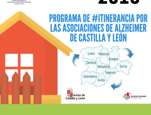 Itinerancia Asociaciones Alzheimer Castilla y León 2018