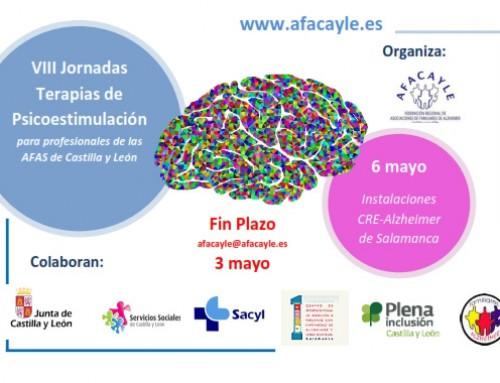 AFACAYLE presenta las VIII Jornadas de Psicoestimulación en Alzheimer