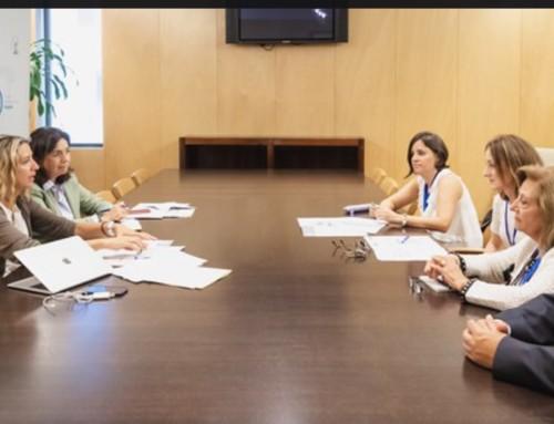 Reunión de AFACAYLE, CEAFA y miembros del Grupo Popular del Congreso de los Diputados
