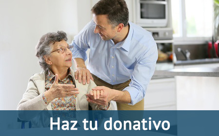 Tu donativo contra el Alzheimer